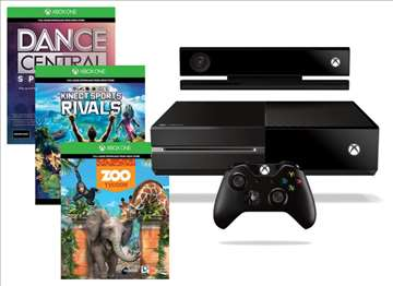 Konzola Xbox One 500GB Kinect +3 Games