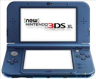 Nintendo 3DS XL Plavi Konzola