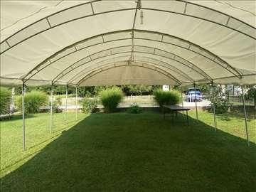 Organizacija skupova na otvorenom, pod šatorom