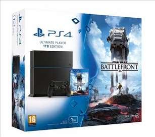 PS4 1TB Star Wars Battlefront konzola