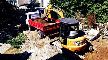 Iskop zemlje i zemljani radovi