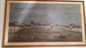 Prodaja slike starog Čačka, Ćirović