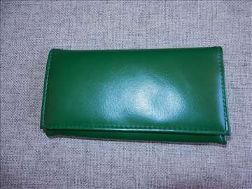 Kožni ženski novčanik 18X10X4cm, namenjen za novac