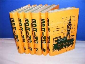 Hauard Spring 6 knjiga iz Izabranih dela