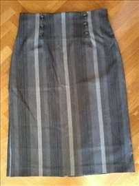 Zimska elegantna suknja (L). Engleska. Original
