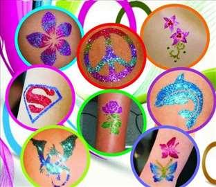 Dečje svetlucave tetovaže