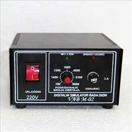 Digitalni simulator za ultrazvučno čišćenje dizni
