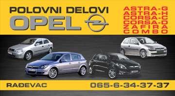 Opel Astra G Kompletan Auto U Delovima