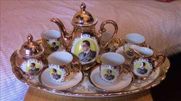 Servis za kafu sa Titovim likom