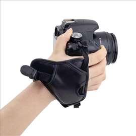 DSLR Camera Leather Grip Rapid Wrist Strap