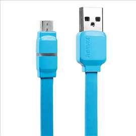 Data kabel REMAX Breathe Micro USB plavi