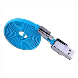 Data kabel REMAX FLAT Micro USB 1m plavi