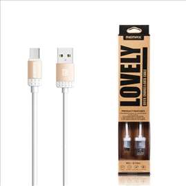 Data kabel REMAX Lovely micro USB 1m