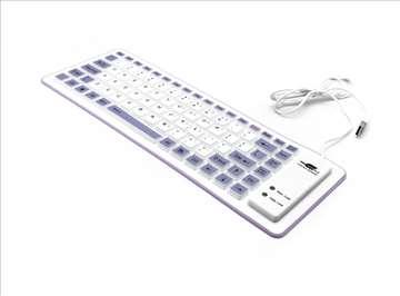Tastatura Usb Flexy ljubičasta
