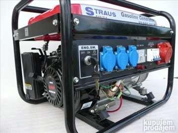 Benzinski agregat 3500 W Straus na ključ
