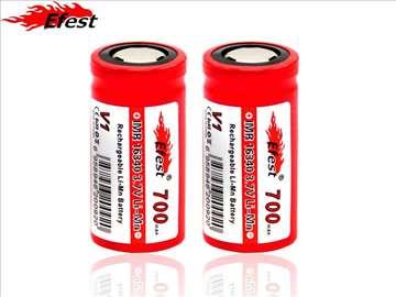 Efest 16340 RCR123A IMR 700mAh Li-Mn baterije