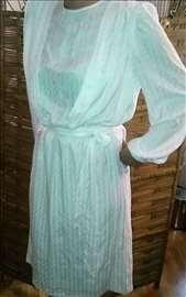 Haljina od svile i poliestera