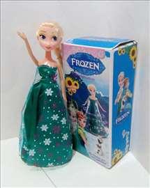 Frozen  koja pleše sa svetlećom haljinom