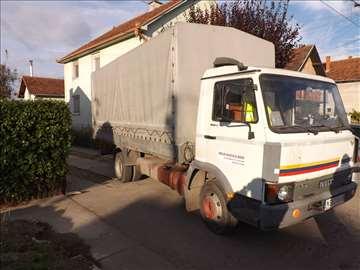 Prevoz građevinskog materijala kamionom