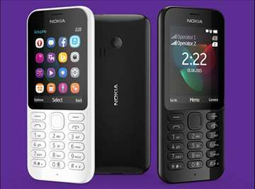 Telefoni Nokia 222 dual sim
