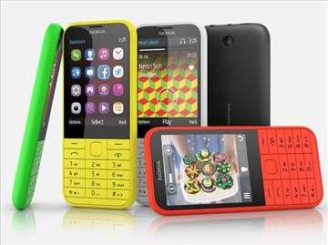 Telefoni Nokia 225 dual sim žuti i crni