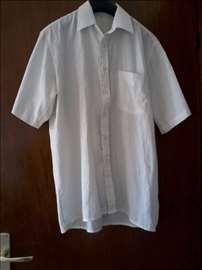 Bela košulja, kratak rukav. Vel.S