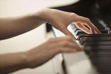 Časovi klavira, solfeđa i drugih muzičkih predmet