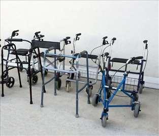 Rolator i fiksne hodalice, velik izbor