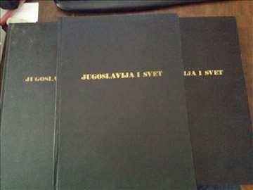 Jugoslavija i svet u 4knjige 1961,1962,1967,1968
