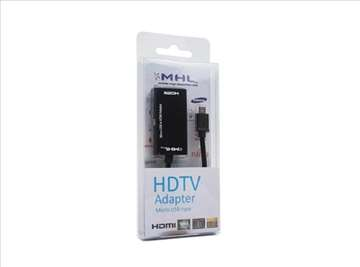 Adapteri MHL micro usb na HDMI tv