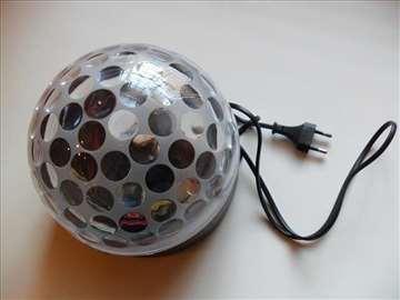 Disko kugle-light show