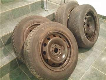 Čelične felne R15 Fiat Stilo sa zimskim gumama