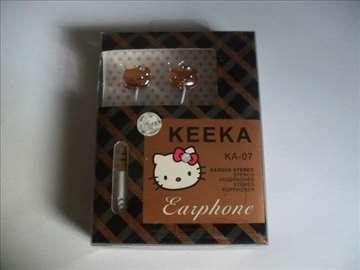 Keeka hello kitty slušalice za ZTE