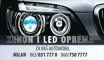 XENON i LED oprema za vas automobil
