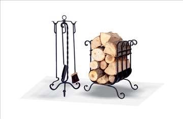 Pribor za peći na čvrsto gorivo