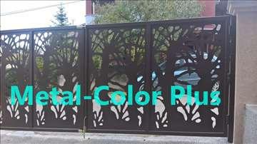 Kapije i ograde od perforiranih čeličnih tabli