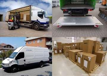 Prevoz robe i selidbe u zemlji i inostranstvu