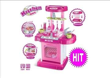 Kuhinjica za devojčice u koferčiću