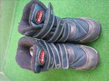 Sivo plave zimske čizme