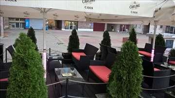 Kompletna bašta za kafić 18m2
