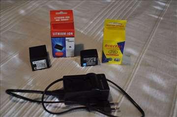 Baterije za Canon camere i eksterni punjač € 15,00