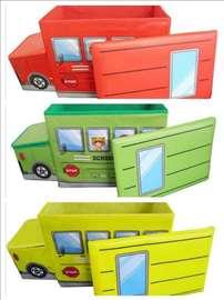 Dečiji tabure za sedenje i odlaganje igračaka