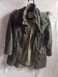 H&M zeleno-maslinasta jakna