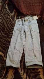 Muške, termo, postavljene pantalone nove