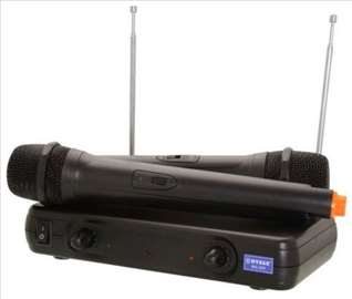Set - 2 mikrofona - baza - NOVO