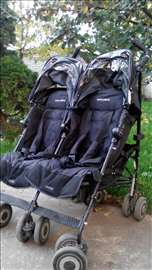 Maclaren kolica za blizance Twin Techn Black
