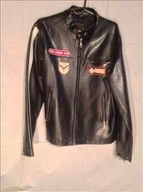 Crna unisex jakna