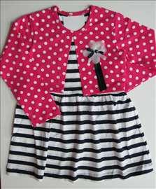 Dečja haljina 92-98-104-116-128 novo