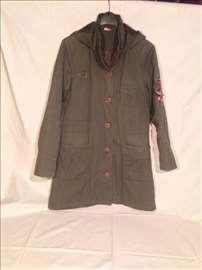 Maslinasta ženska jakna