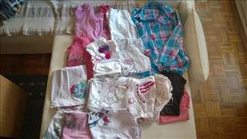 Komplet dečje ženske garderobe